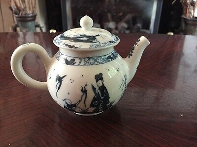 Stunning Franklin Mint Victoria And Albert Museum Miniature Teapot - Worcester