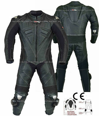 1 & 2 Piece  Motorbike Motorcycle Racing Leather Suit With Ce Approved Armors