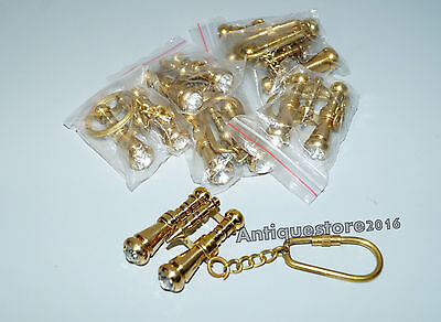 Collectible Adjustable Binocular Key Chain Lot Of 10 Pcs Best Quality Top Gift..