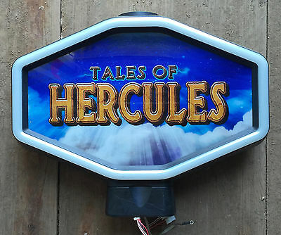 "Hexagon Igt Slot Machine Topper "" Tales Of Hercules """