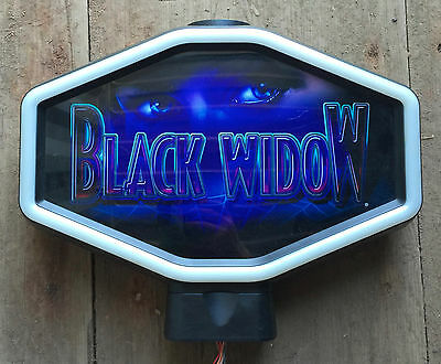 "Hexagon Igt Slot Machine Topper ""black Widow"""