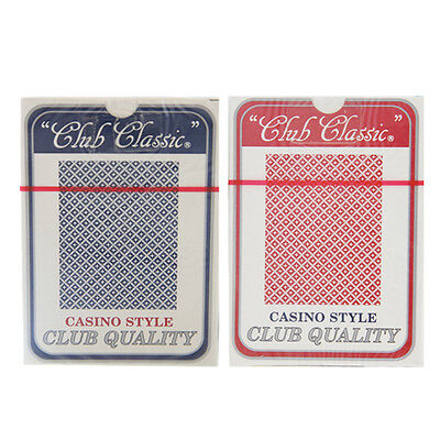 "(12 Decks) Casino Style ""Club Classic"" Playing Cards - Satin Finish"