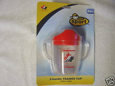NEW  Little Sport HOCKEY CANADA SIPPY CUP