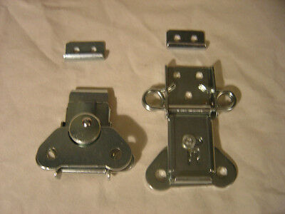 CASE HARDWARE NEW pair of heavy duty surface mount latches