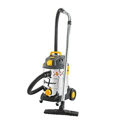 Vacmaster 110V 1000W 30L Industrial Wet and Dry Vacuum with Power Tool Take Off