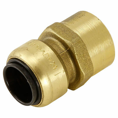 Sharkbite Copper Female STRAIGHT CONNECTOR Push Fitting Aus Made, 15mm or 20mm