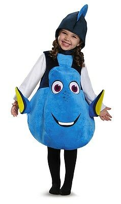 Dory Deluxe Toddler Costume, Finding Nemo, Blue, Disguise