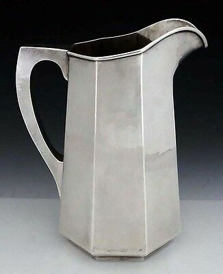 KALO Sterling 4 1/4 Pint Pitcher with Panels Style G574