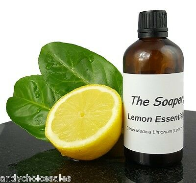 Lemon Essential Oil 100ml - Pure Natural Aromatherapy Oil