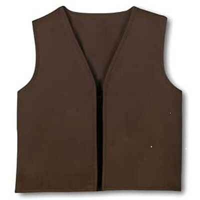 Brownie Girl Scouts Vest Size m (10-12) Official Tags Intact Medium New