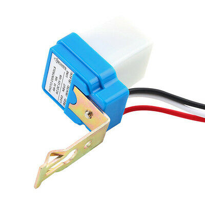 AC DC 12V 10A Auto On Off Street Light Photoswitch Sensor Switch Photocell L