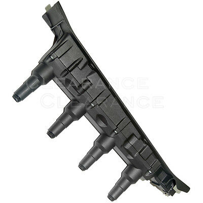 UF-577 New Direct Ignition Coil Cassette Pack Black For Saab 9-3 9-5 Turbo 4Cyl