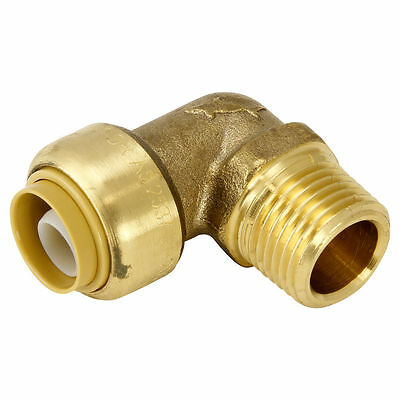 "Sharkbite 1/2"" MALE ELBOW 16mm PEX Pipe Use Only Rust Resistant Threaded"
