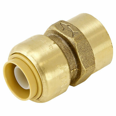 Sharkbite Straight FEMALE CONNECTOR 16mm x 15F PEX Pipe Use Rust Resistant