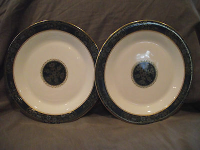 Set of 2 Royal Doulton Carlyle Dinner Plates