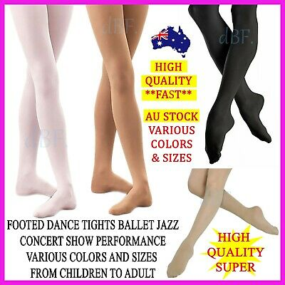 Foot Footed Tights Dance Stockings Ballet Pantyhose Size Children & Adult Colors