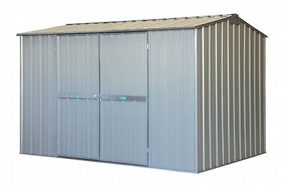 3m x 3m x 2.1m Double Door Gable roof Factory Second Zinc