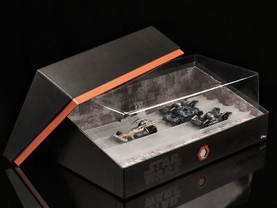 Sdcc 2016 Mattel Hot Wheels Star Wars Carships Trench Run Set Exclusive