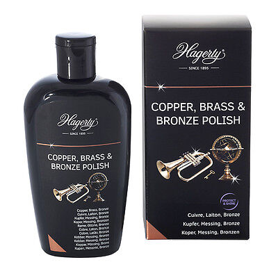 Hagerty Copper Brass & Bronze Polish Lotion für Kupfer Messing & Bronze 250ml