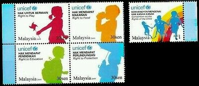 Unicef Caring For Children Art Society Malaysia 2009 Braille (stamp) MNH unusual