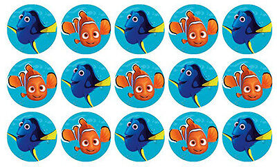 15 Finding Nemo Dory Edible Wafer Cupcake Decoration Cup Cake Images Toppers
