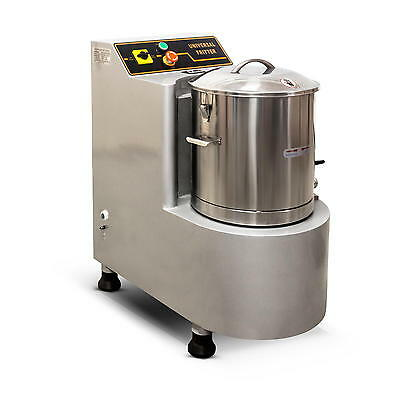 Brand New 15L Commercial Food Processor Commercial Vegetable Cutter 5200 Watts