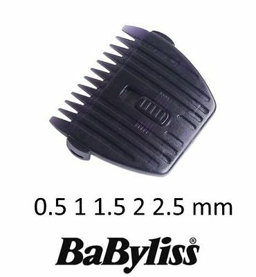 BABYLISS 35876614 0.5 1 1.5 2 2.5mm Guide coupe precision tondeuse E765 E770
