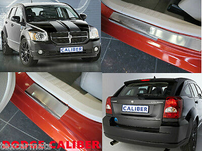 Dodge Caliber 2006-2011 Stainless Steel Door Sill Entry Guard Covers Protectors