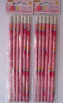 12 x Daisy May Fairy Character Pencils Girls Party Loot Bag Fillers Toys