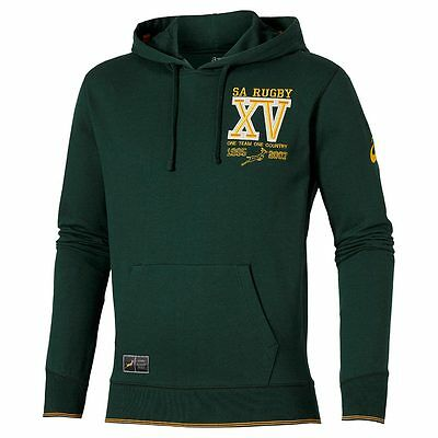 Asics South Africa Springbok Rugby Hoody