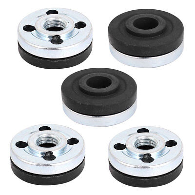 5 Pair Round Clamp Inner Outer Nuts Flange Fixing for Makita 9523 Angle Grinder