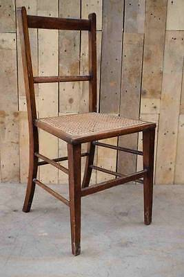 Retro Vintage Wooden / Cane Occasional / Hallway Chair - Upcycle / Shabby Chic??