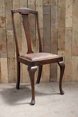 Retro Vintage French Style Queen Anne Occasional Chair - Upcycle?