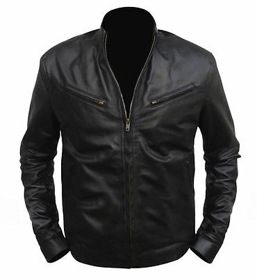 Men's Fast And Furious 6 Vin Diesel Leather Jacket