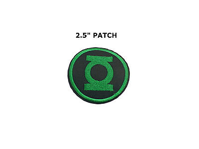 Superhero Super Hero Green Lantern Embroidery Iron On Patch Badge