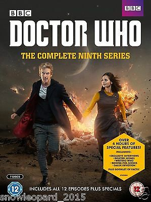DOCTOR DR WHO COMPLETE SEASON 9 DVD Box Set 9th Nineth Ninth Series Nine New UK