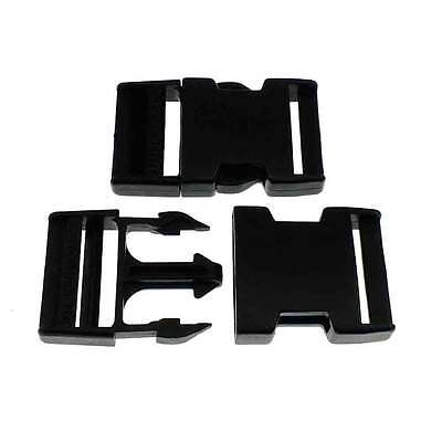 Delrin Side Release Plastic Buckles Clips For Webbing Bags Straps 20mm to 50mm