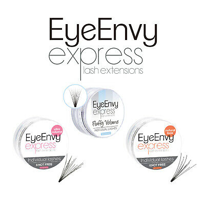 EyeEnvy Individual Eyelash Natural False Eye Lash Knot Free Express Extensions