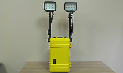 9460-000-245 Pelican 9460 REMOTE AREA LIGHTING SYSTEM - 2 LED HEAD - YELLOW
