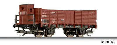 TILLIG 14282 TT Off. goods wagons Om Wroclaw with Brhs. the DRG/DR NEW in
