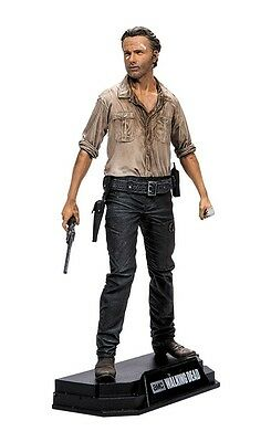 "Walking Dead TV Series Colour Tops Red Rick Grimes 7"" Figure McFarlane IN STOCK"