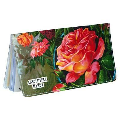 Rose Plants Checkbook Cover, New, Free Shipping