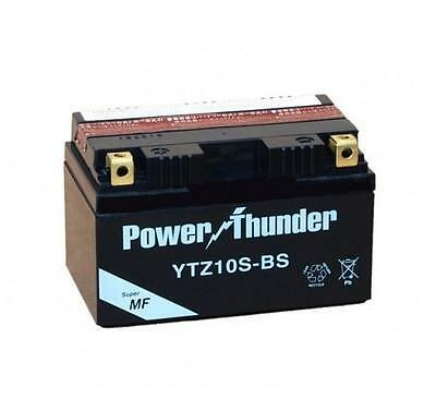 Bateria power thunder YTZ10S-BS sellada, sin mantenimiento