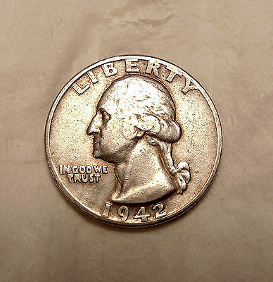 "1942-D Washington Quarter - FS-101 ""Double Die obv"" Var - Very Nice looking Coin"