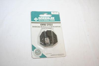 Greenlee 46116 Kwik Cycle Die Set RJ11 2, 4, 6 Position