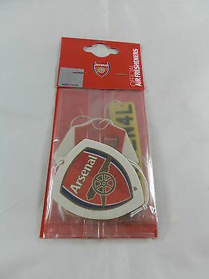 Arsenal FC Car Air Fresheners - 3 Pack - Official Merchandise