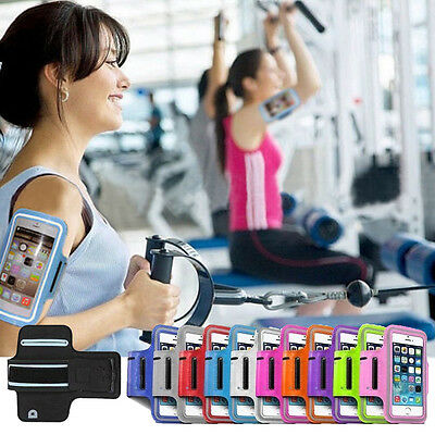 ADJUSTABLE Sports Running Gym Armband Case Arm Band Holder For iPhone 8 7 Plus