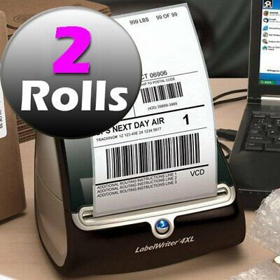 2 Roll 220/Roll Thermal 4x 6 Shipping Postage Labels Compatible Dymo 4XL 1744907