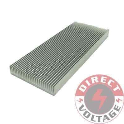1pc 100*41*8mm Aluminum Heat Sink for Computer LED Power IC Transistor HPT