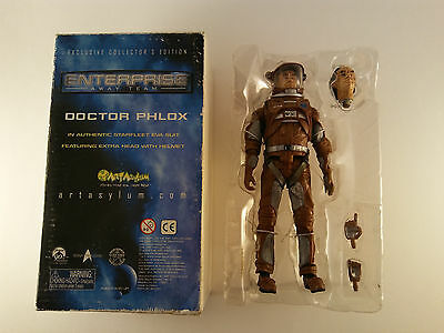 RARE! Exclusive Collector's Edition SIGNED Doctor Phlox Action Figure Enterprise